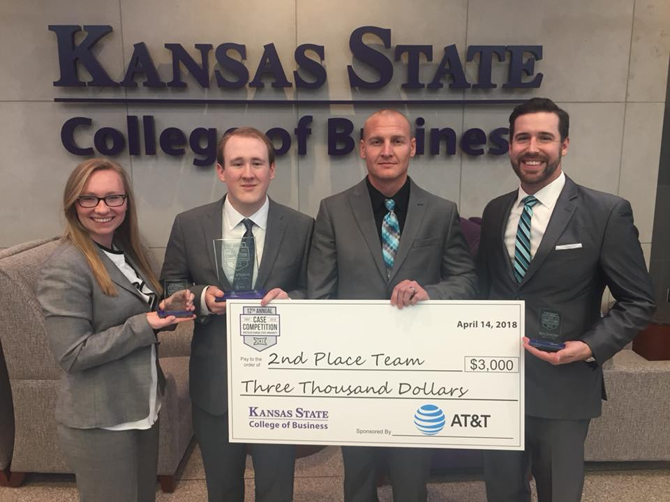MBA students take 2nd place in Big 12 case competition